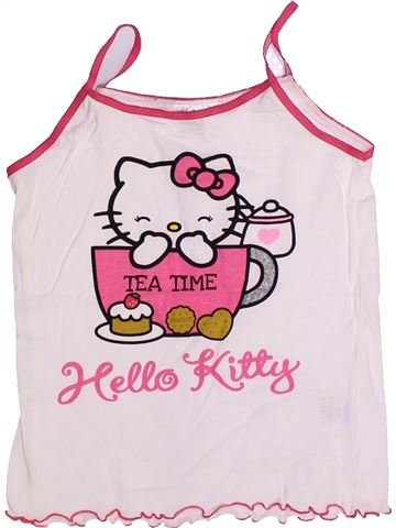 T-shirt sans manches fille HELLO KITTY rose 12 ans été #1269133_1
