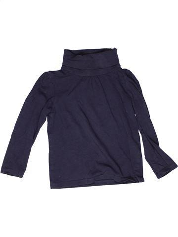 Camiseta de cuello alto niña TAPE À L'OEIL azul 4 años invierno #1269240_1