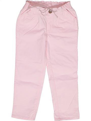 Pantalón niña CYRILLUS rosa 2 años verano #1269292_1