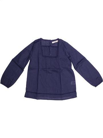 Blusa de manga larga niña CFK azul 6 años invierno #1269413_1