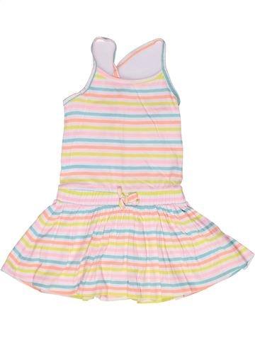 Robe fille LH BY LA HALLE blanc 6 ans été #1269452_1