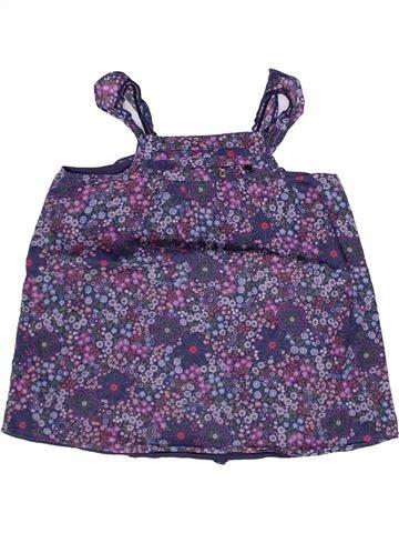 Blusa de manga corta niña IKKS violeta 6 años verano #1269465_1