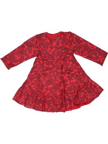 Robe fille FLORIANE rouge 2 ans hiver #1269611_1