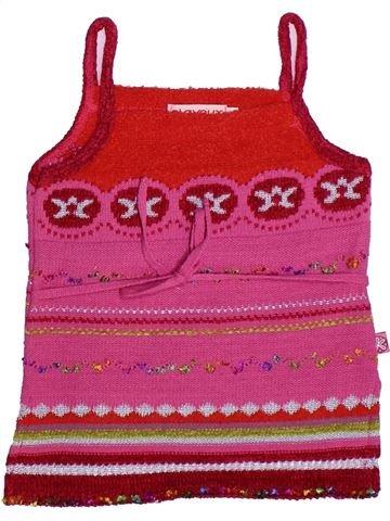 Camiseta sin mangas niña CLAYEUX rosa 4 años verano #1269653_1