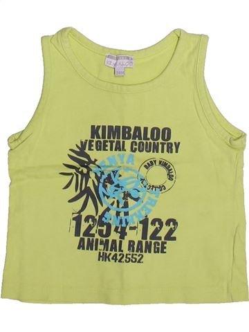 Débardeur garçon KIMBALOO vert 2 ans été #1269742_1