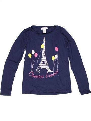 Camiseta de manga larga niña LA REDOUTE CRÉATION azul 11 años invierno #1269812_1