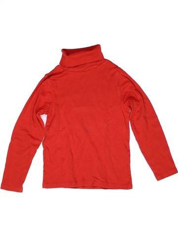 T-shirt col roulé garçon LA REDOUTE CRÉATION rouge 8 ans hiver #1269813_1