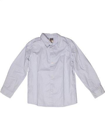 Chemise manches longues garçon TAPE À L'OEIL blanc 5 ans hiver #1269851_1