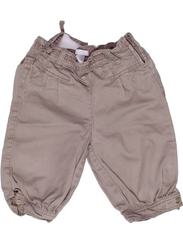 Pantalón corto niña OKAIDI gris 2 años verano #1269936_1