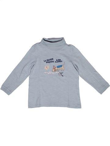 T-shirt col roulé garçon SERGENT MAJOR gris 4 ans hiver #1270075_1