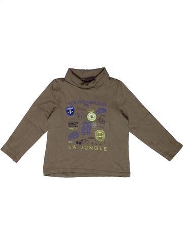 T-shirt col roulé garçon SERGENT MAJOR marron 4 ans hiver #1270080_1