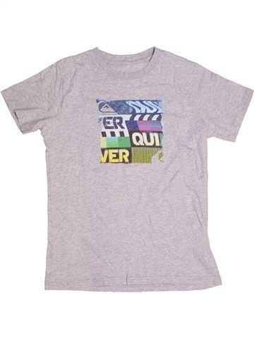T-shirt manches courtes fille QUIKSILVER blanc 12 ans été #1270180_1