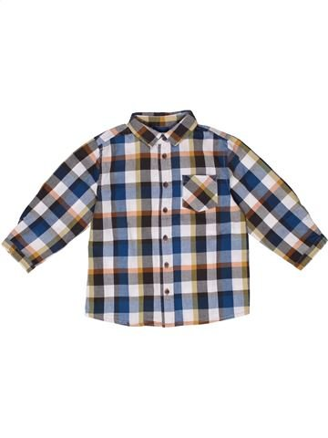 5a1d83a81 Camisa de manga larga niño BOUT CHOU gris 2 años invierno  1270211 1