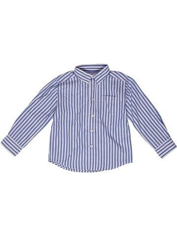 Camisa de manga larga niño MONOPRIX azul 3 años invierno #1270224_1