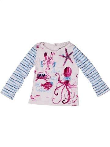 Camiseta de manga larga niña CATIMINI gris 2 años invierno #1270527_1