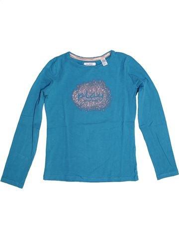 Camiseta de manga larga niña OKAIDI azul 8 años invierno #1270707_1