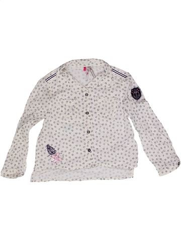 Blouse manches longues fille ORCHESTRA blanc 3 ans hiver #1271197_1