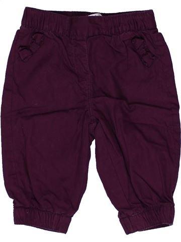 Pantalon fille KIABI violet 6 mois hiver #1271447_1