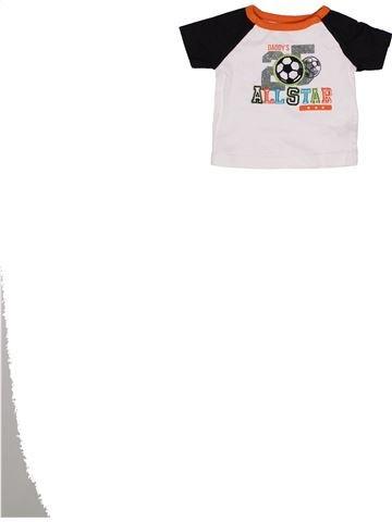 T-shirt manches courtes garçon KOALA blanc 3 mois été #1271872_1