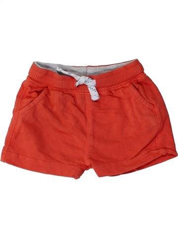 Short - Bermuda garçon ZARA rouge 6 mois été #1271917_1