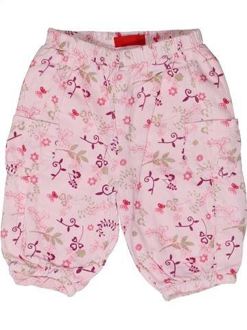 Pantalon fille TISSAIA rose 3 mois hiver #1272119_1