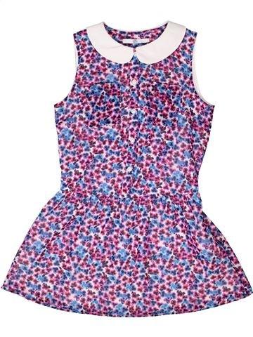 Vestido niña MONOPRIX violeta 10 años verano #1272195_1