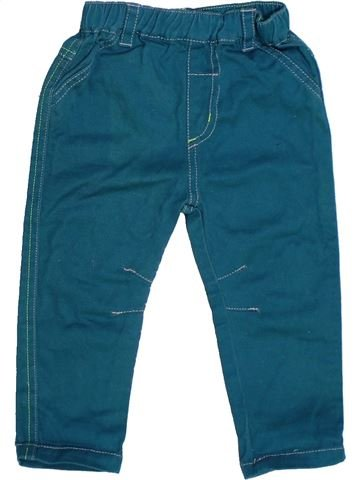 Pantalon garçon GEORGE bleu 12 mois été #1272431_1