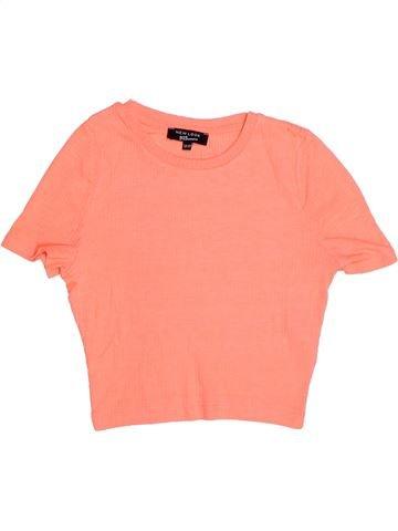 T-shirt manches courtes fille NEW LOOK beige 13 ans été #1272560_1