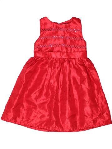Robe fille GYMBOREE rouge 4 ans hiver #1272579_1