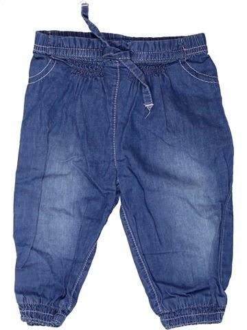 Pantalon fille F&F bleu 6 mois été #1272654_1