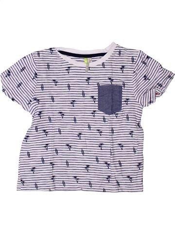 Camiseta de manga corta niño ORCHESTRA blanco 5 años verano #1272782_1