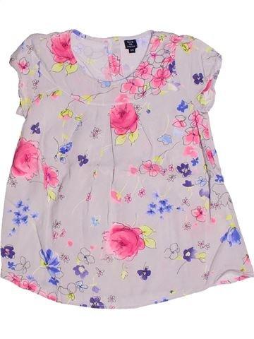 Blusa de manga corta niña TERRE DE MARINS rosa 6 años verano #1272817_1
