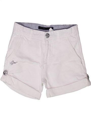 Short-Bermudas niña IKKS blanco 4 años verano #1272820_1