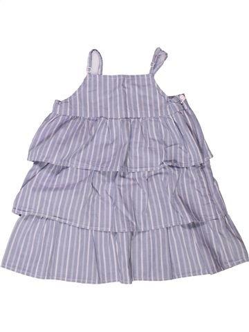 Robe fille VERTBAUDET violet 4 ans été #1272828_1