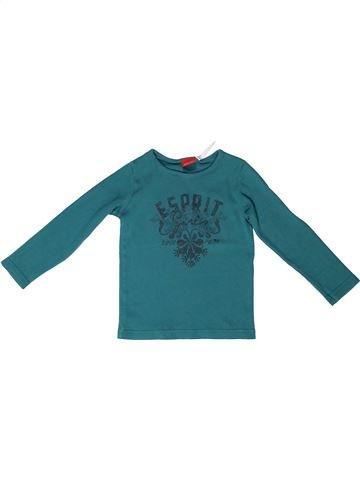 T-shirt manches longues fille ESPRIT vert 5 ans hiver #1272843_1