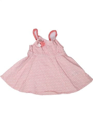 Blusa de manga corta niña GEMO rosa 5 años verano #1272893_1