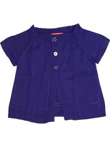 Gilet fille LISA ROSE violet 3 ans hiver #1273144_1