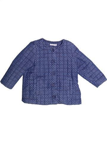Chaqueta niña BOUT'CHOU azul 2 años invierno #1273312_1