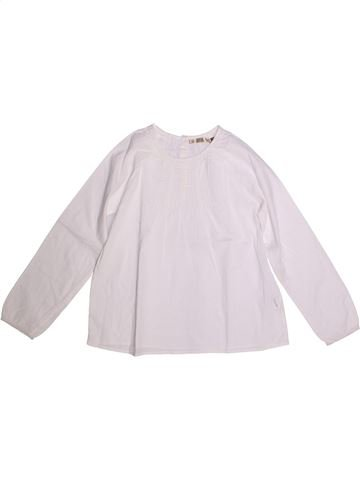 Blusa de manga larga niña CFK blanco 12 años invierno #1273342_1
