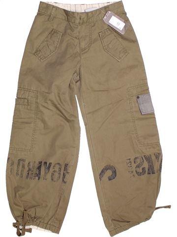 Pantalón niño IKKS marrón 8 años invierno #1273365_1
