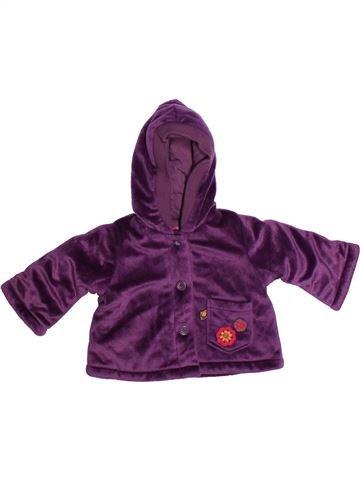 Abrigo niña ADELIE violeta 6 meses invierno #1273392_1