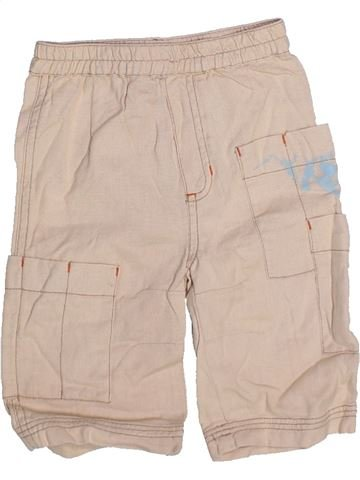 Short - Bermuda garçon DPAM beige 12 mois été #1273401_1