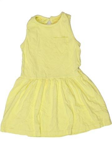 Robe fille PRIMARK jaune 2 ans été #1273512_1