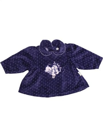 Pull fille SMILY bleu 12 mois hiver #1273528_1