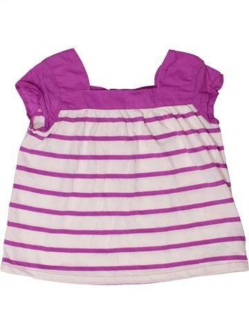 T-shirt manches courtes fille GAP rose 3 ans été #1273533_1
