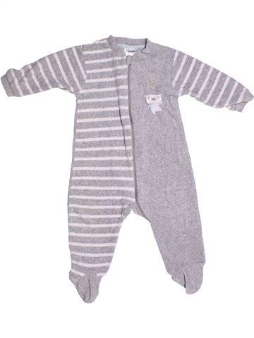 Pijama de 1 pieza niño IMPIDIMPI gris 10 años invierno #1273549_1