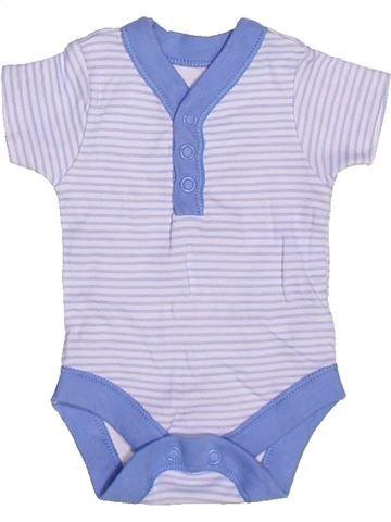 T-shirt manches courtes garçon GEORGE violet prématuré été #1273573_1