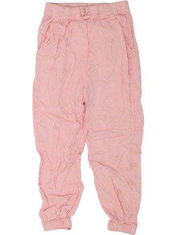 Pantalón niña H&M rosa 6 años verano #1273693_1