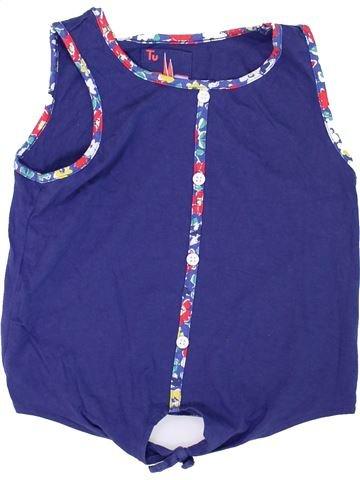 T-shirt sans manches fille TU violet 10 ans été #1273708_1