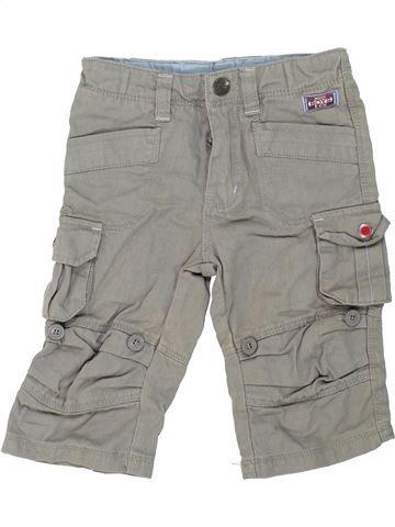 Pantalon garçon TOPOLINO gris 6 mois été #1273966_1